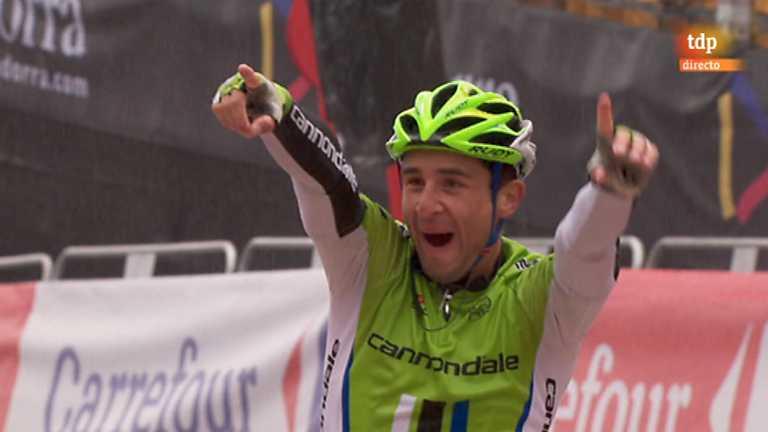 Vuelta ciclista a España 2013 - 14ª etapa: Baga-Andorra-Collada de la Gallina
