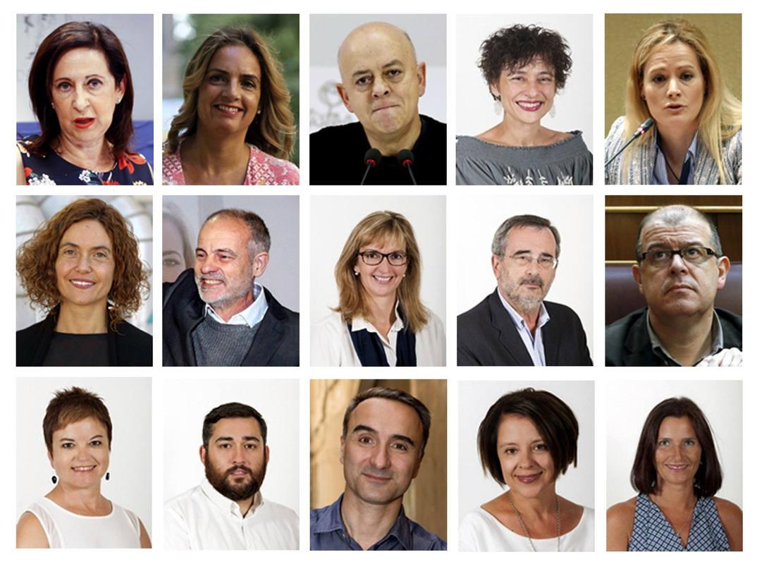 Los 15 diputados socialistas que han roto la disciplina de voto en la investidura de Mariano Rajoy