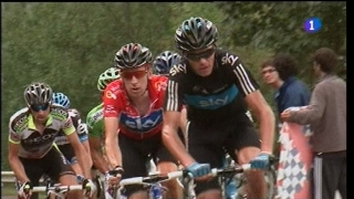 Vuelta a España. Etapa 15: Avilés - Alto de L'Angliru - 04/09/11. Tercera parte