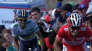 Vuelta ciclista a España 2012 - 16ª etapa: Gijón-Valgrande-Pajares.Cuitu Negrus