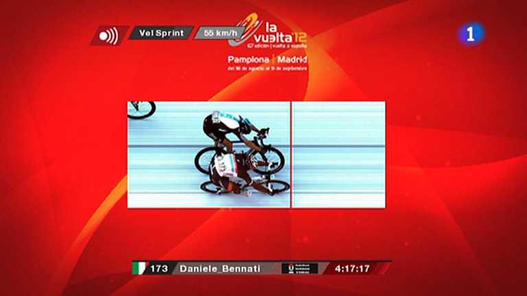Vuelta ciclista a España 2012 - 18ª etapa: Aguilar de Campoo-Valladolid