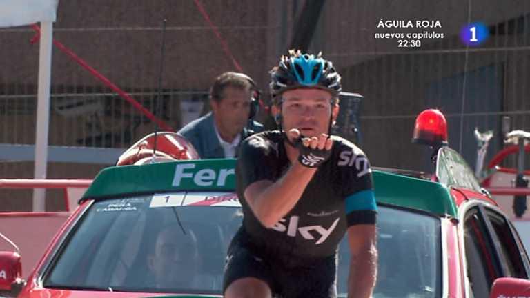 Vuelta ciclista a España 2013 - 18ª etapa: Burgos - Peña Cabarga