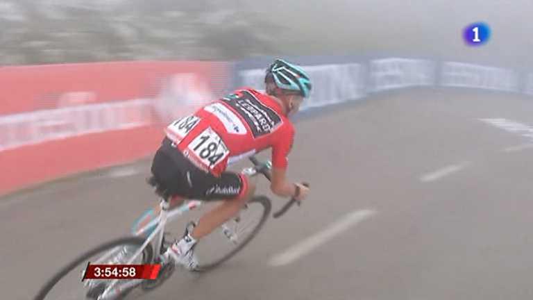 Vuelta ciclista a España 2013 - 20ª etapa: Avilés - Alto de L'Angliru