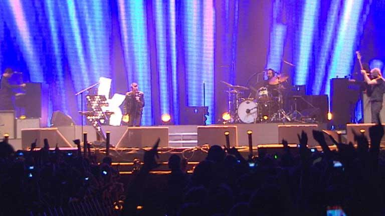 20.000 personas  al son de The Killers