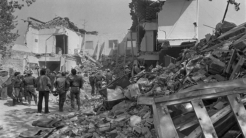 30 años del atentado en el restaurante El Descanso