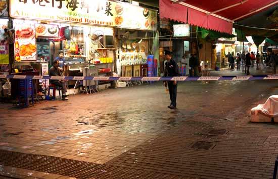 30 personas heridas por ácido en Hong Kong
