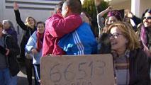 300 décimos del Gordo de Navidad se han repartido entre los 568 habitantes de Brea de Tajo en Madrid
