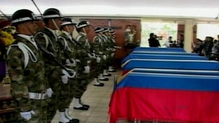 El ejército colombiano mata a 33 guerrilleros de las Farc