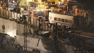El accidente de Santiago, el primero con muertos en línea de Alta Velocidad