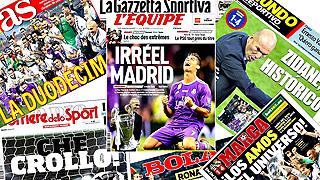 El 4-1 a la Juventus se celebró en todo el mundo por los madridistas