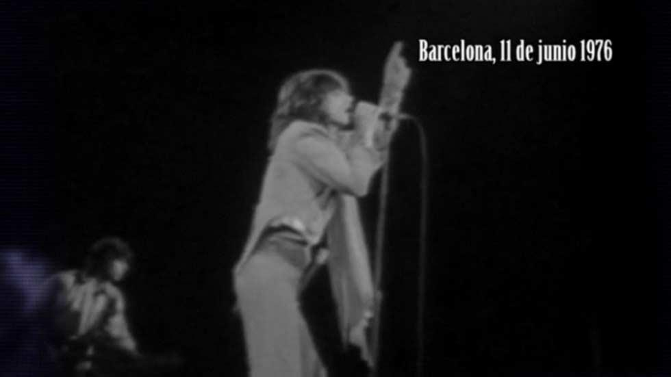 40 años del primer concierto de los Rolling Stones en Barcelona