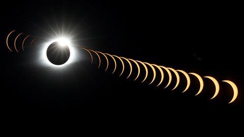 4.000 kilómetros de eclipse total de Sol en Estados Unidos