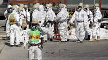Ir al Video5.000 personas participan en un simulacro de accidente nuclear, en Cáceres