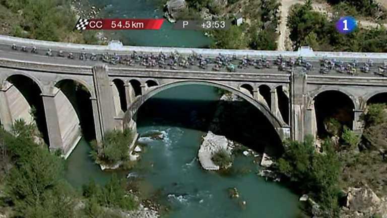 Vuelta ciclista a España 2012 - 6ª etapa: Tarazona-Jaca