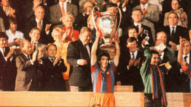 El Barça ha jugado 6 finales de Champions