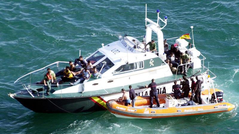62 inmigrantes magrebíes han sido rescatados en el Estrecho