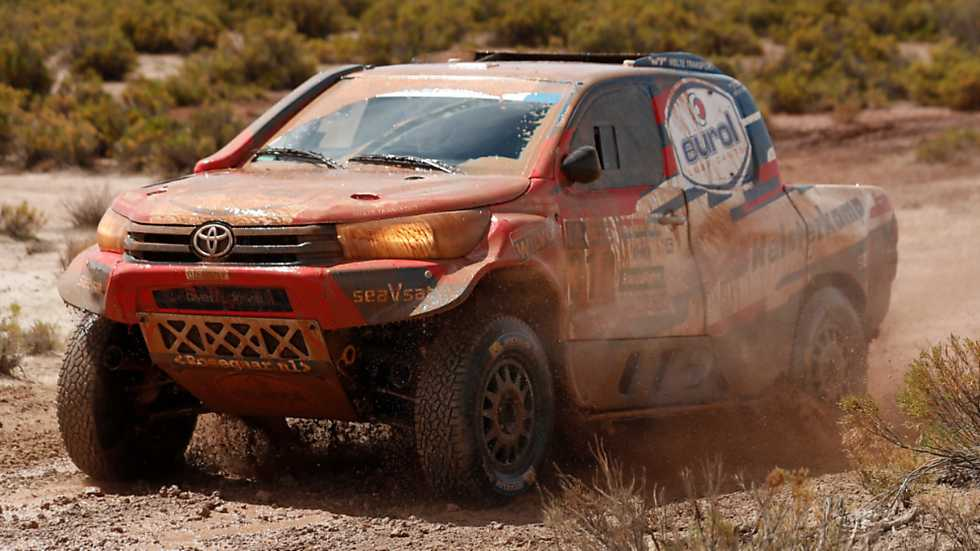 Rally Dakar 2017 - 7ª etapa: La Paz - Uyuni