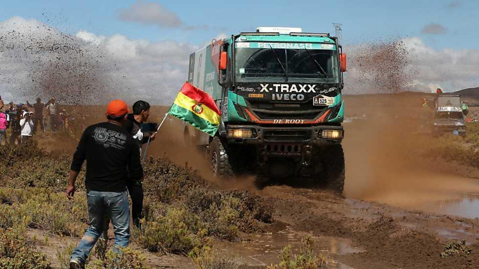 Rally Dakar 2017 - 8ª etapa: Uyuni-Salta