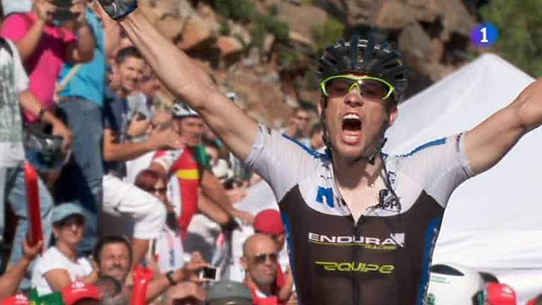 Vuelta ciclista a España 2012 - 8ª etapa: Jerez de la Frontera - Estepona. Alto Peñas Blancas.