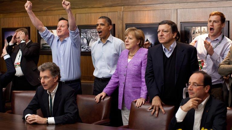El G-8 vibró con la final de la Champions