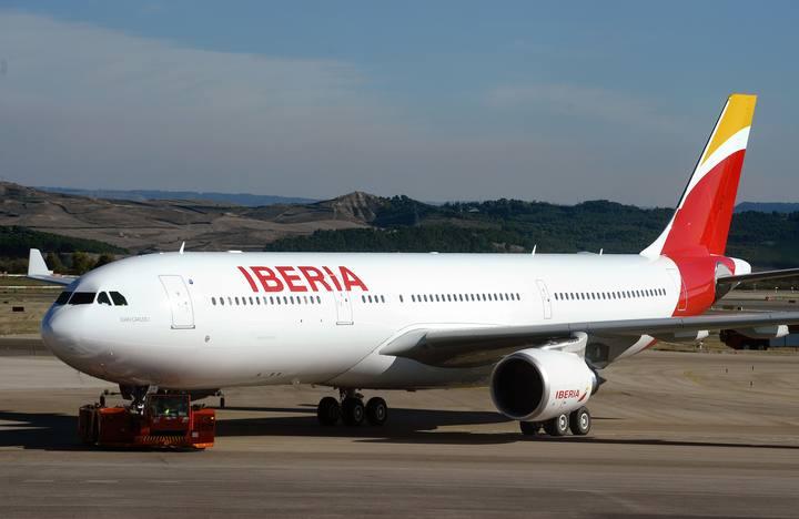 Un A330 de Iberia