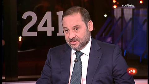 Entrevista a José Luis Ábalos en La Noche en 24h