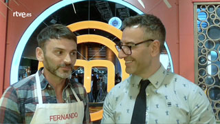 Abel Arana pone a prueba a Fernando Tejero