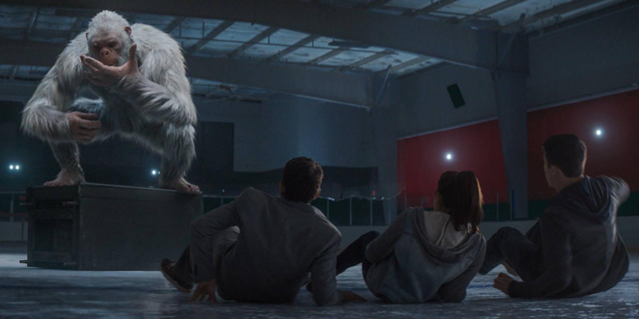 El abominable hombre de las nieves es otro de los monstruos que aparecen en la película