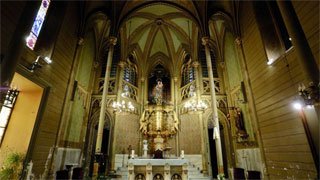 Abre al público el santuario del Sagrado Corazón, la obra más desconocida de Gaudí
