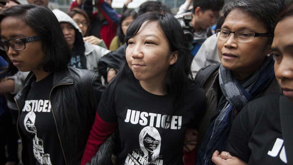 Condena en Hong Kong por graves abusos a una empleada doméstica