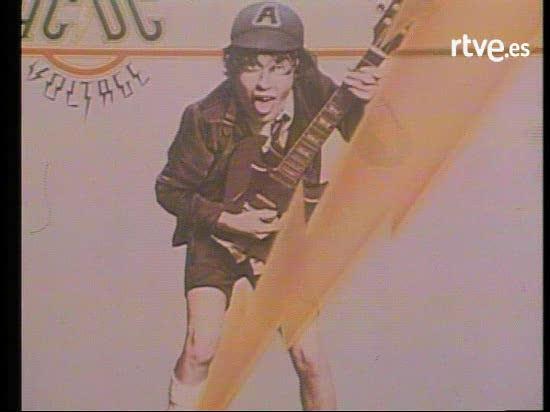 AC/DC en Popgrama (1978)