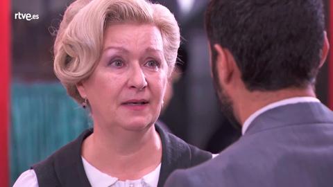 Susana no quiere que Víctor se vaya