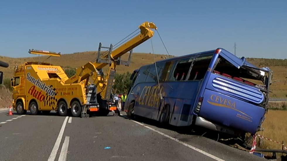 El accidente de Cieza es el tercero más grave desde el año 2000 en España