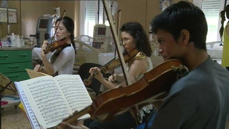 Acercar la música clásica a aquellos que no pueden ir a los conciertos