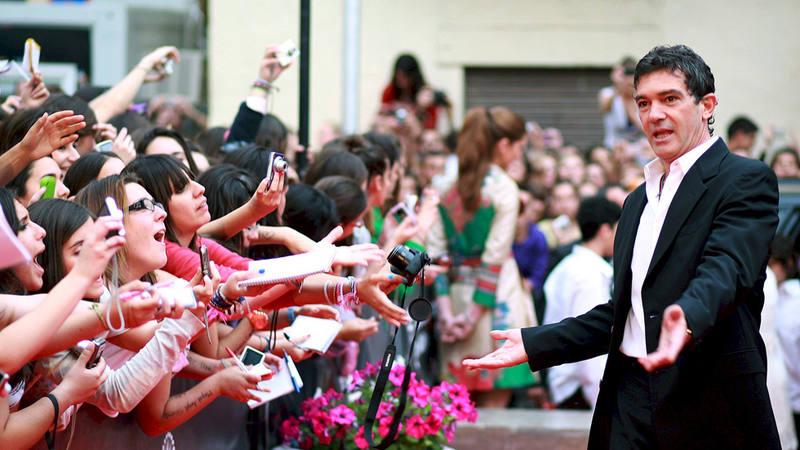 El actor Antonio Banderas en la XIV edición del Festival de Cine Español de Málaga.