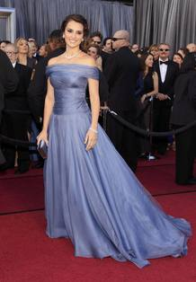 Penélope Cruz, en los Oscar 2012