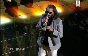 Eurovisión 2008 - Actuación de Francia con Sébastien Tellier