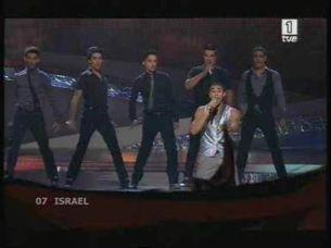 Eurovisión 2008 - Actuación de Israel con Boaz Mauda