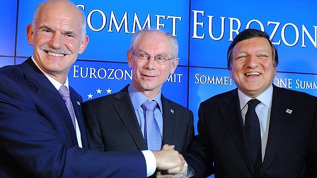 El Eurogrupo acuerda el segundo rescate a Grecia