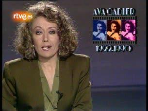 El adiós de Ava Gardner en 1990