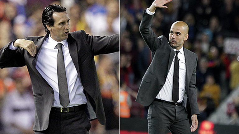El adiós de Guardiola y de Emery
