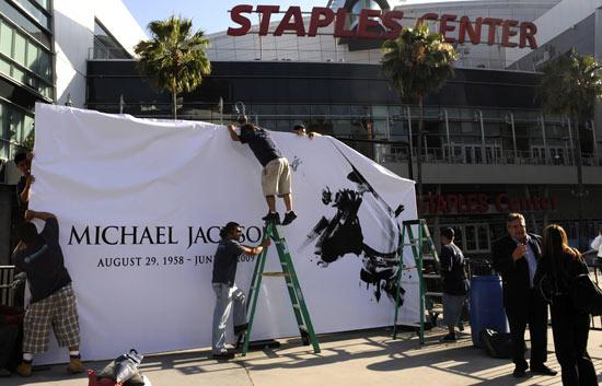 En el Staples Center de Los Angeles se celebrará el funeral de Michael Jackson