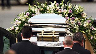 Emotivo adiós a Whitney Houston