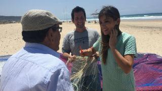 Adopta a Marta: entre redes y arena