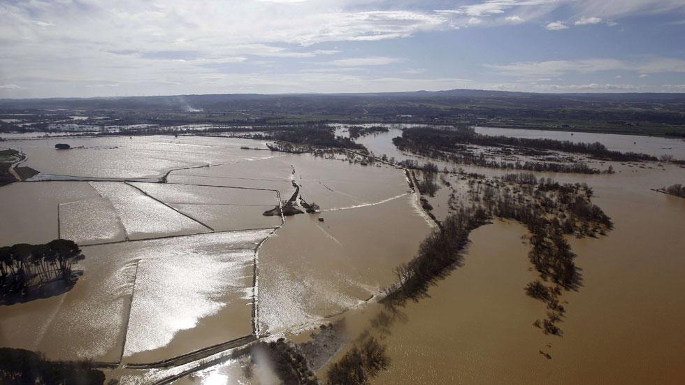 Los agricultores afectados por las inundaciones dudan de las ayudas prometidas por el Gobierno