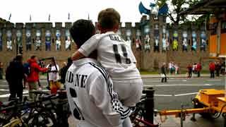 La afición madridista sueña con la duodécima en Cardiff
