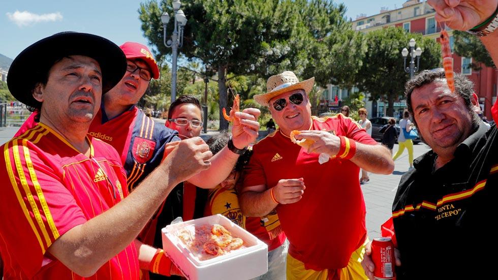 La afición se vuelca con la Roja antes del choque contra Croacia