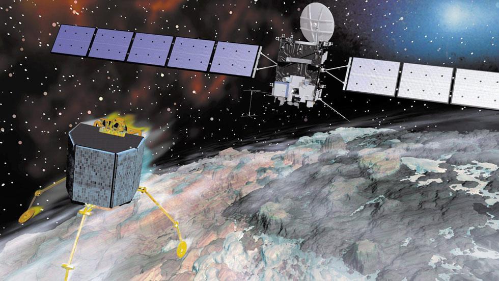 La sonda Philae depende de recibir más energía solar para volver a hacer ciencia