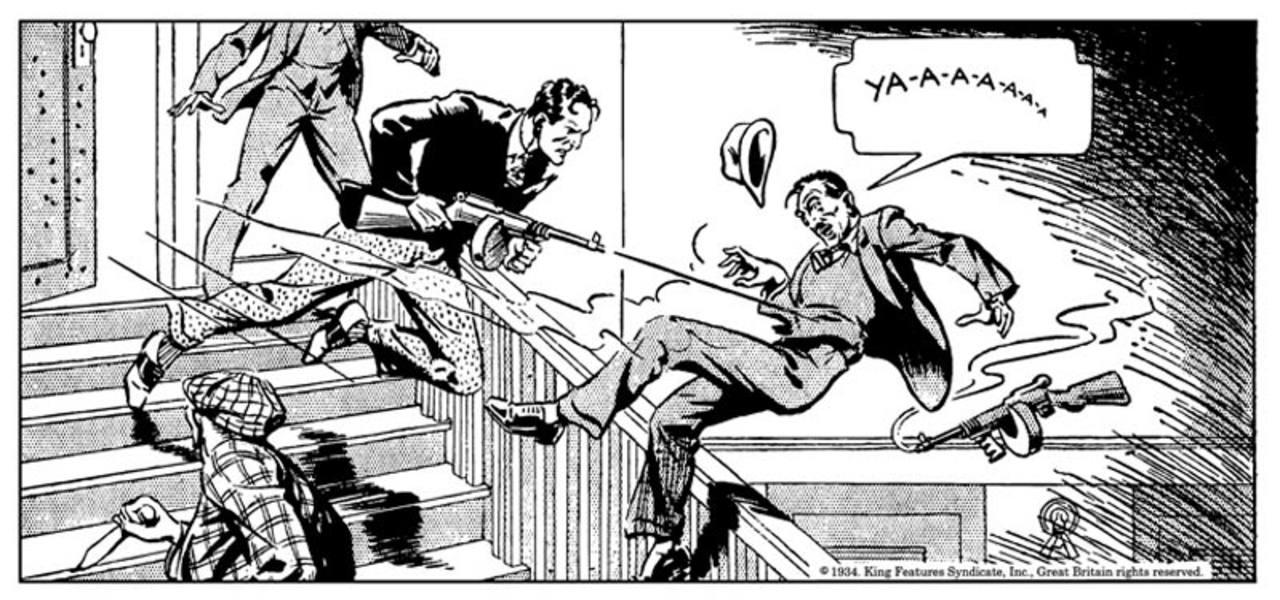 El Agente secreto X-9 en acción