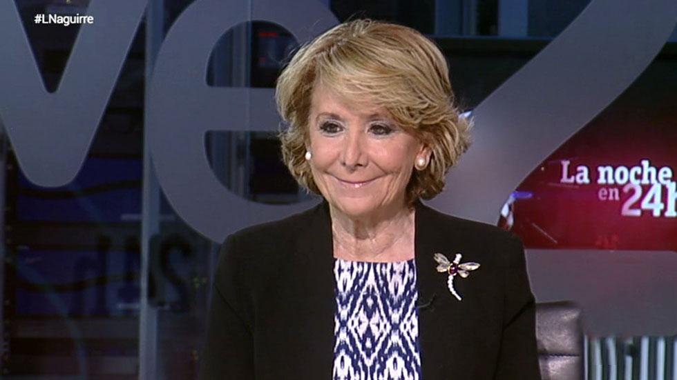 """Aguirre: """"Estoy convencida de que voy a ganar, aunque la mayoría absoluta está muy difícil"""""""
